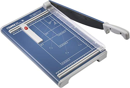 Dahle 533 Professional Guillotine Trimmer, 13' Cut Length, 15 Sheet Capacity, Self-Sharpening,...