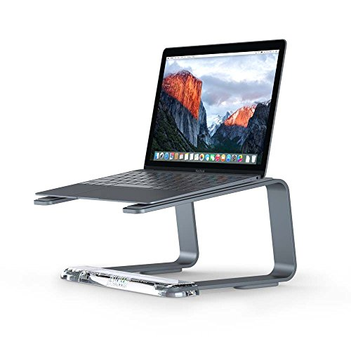Griffin Elevator Stand for Laptops - Lift Your Laptop to a Comfortable Viewing Height, Space Grey