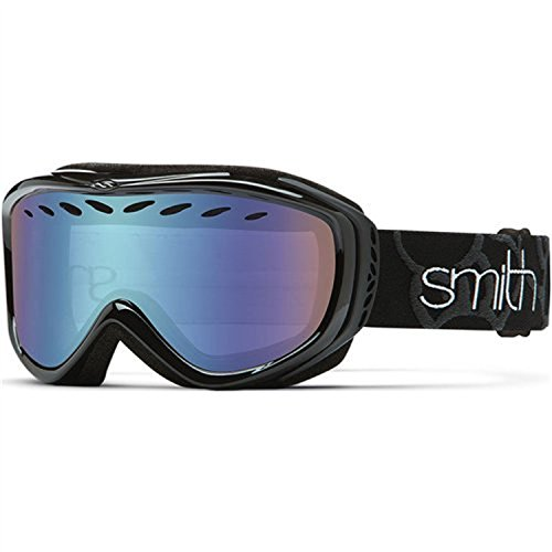 Smith Optics Transit Women's Airflow Series Snow Snowmobile Goggles Eyewear - Black/Ignitor...