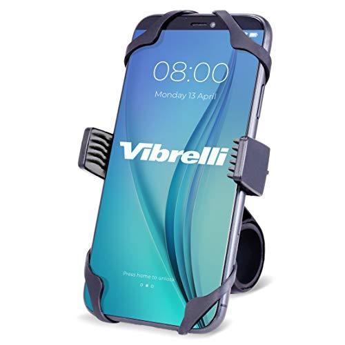 Vibrelli Universal Motorcycle & Bike Phone Mount | Handlebar Phone Holder for Bikes, Bicycles,...
