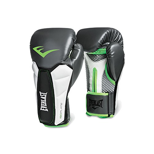 Everlast Prime Boxing Gloves (Pair), Grey, 16-Ounce