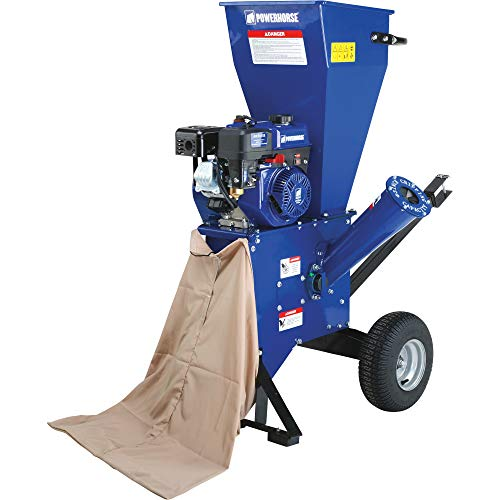 Powerhorse Chipper/Shredder - 212cc OHV Engine, 3in. Chipping Capacity