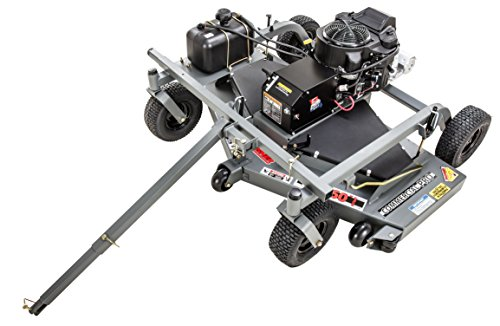 Swisher FC14560CPKA 14.5 HP 12V Kawasaki 60' Commercial Pro Trail Mower Trailmower, Gray