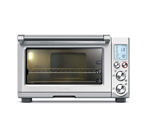Breville BOV845BSS Smart Oven Pro 1800 W Convection Toaster Oven with Element IQ, Brushed Stainless...