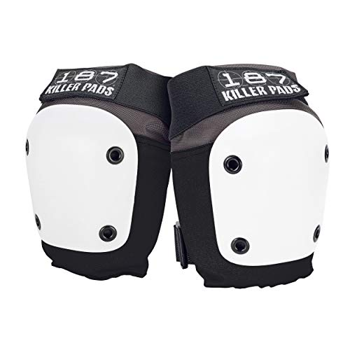 187 Killer Pads Fly Knee Pad, Red / White / Blue, Small