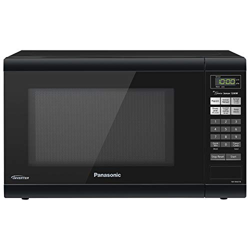 Panasonic NN-SN651B Countertop with Inverter Technology and Genius Sensor Microwave Oven, 1.2 cft,...