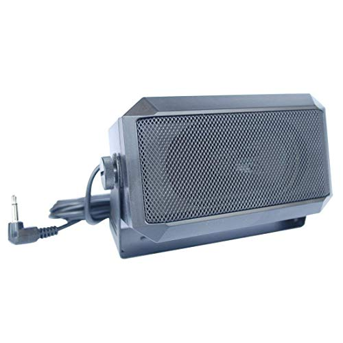VECTORCOM TRD550 Rectangular 3.5mm Plug 5W External Speaker/CB Speaker for Ham Radio, CB and...