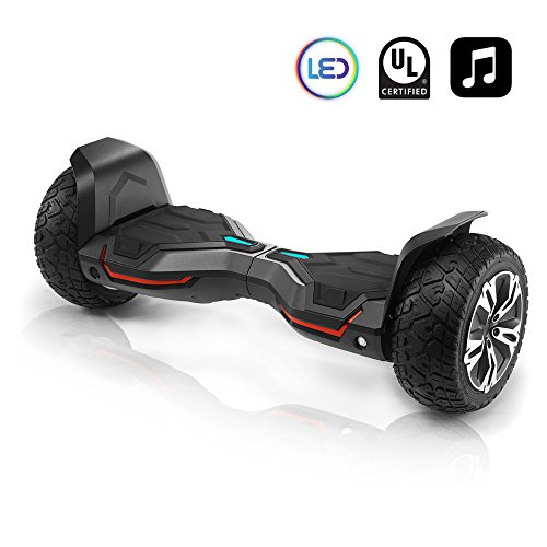 CHO All Terrain Hoverboard Off-Road Smart Self-Balancing Dual Motors Electric Scooter With Built-In...