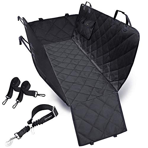 URPOWER Dog Seat Cover Car Seat Cover for Pets 100%Waterproof Pet Seat Cover Hammock 600D Heavy Duty...