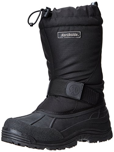 Northside Men's Alberta II Snow Boot, Black, 11 M US