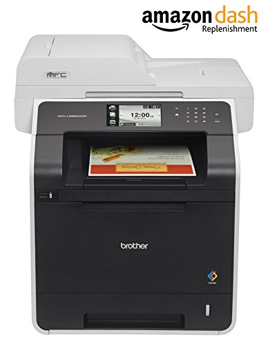 Brother Printer MFC-L8850CDW Wireless Color Laser Printer with Scanner, Copier and Fax, Amazon Dash...