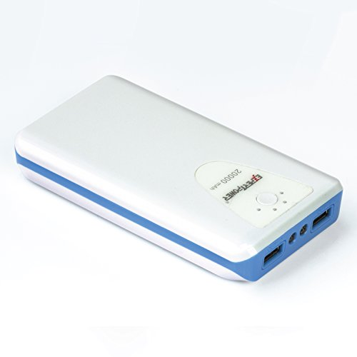 ExpertPower 20000mAh USB-C Input Ultra High Capacity External Battery Power Bank for Smartphone &...
