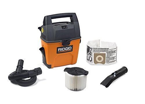 RIDGID Wet Dry Vacuums VAC3000 Portable Wet Dry Vacuum Cleaner for Car, Garage or In-Home Use,...