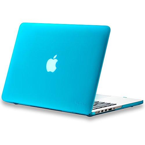 Kuzy - Older Version MacBook Pro 13.3 inch Case (Release 2015-2012) Rubberized Hard Cover for Model...