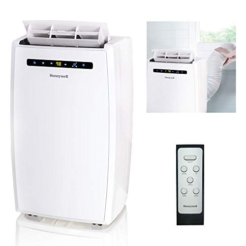 Honeywell MN10CESWW 10000 BTU Portable Conditioner, Dehumidifier & Fan for Rooms Up To 350-450 Sq....