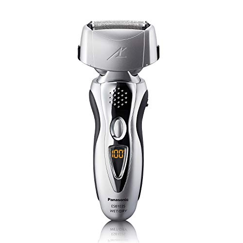 Panasonic Electric Shaver and Trimmer for Men ES8103S Arc3, Wet/Dry with 3 Nanotech Blades and...