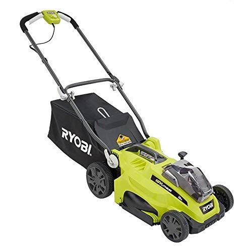 Ryobi ONE+ 18V 4.0 Ah Cordless Push Behind Lawn Mower (Renewed)