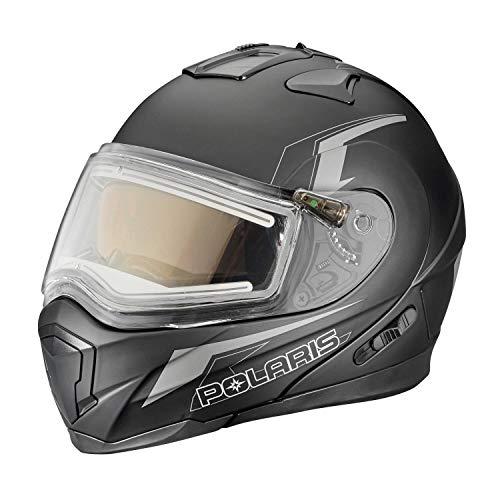 Polaris Modular 1.5 Helmet W/Electric Shield - Black/Gray, Large