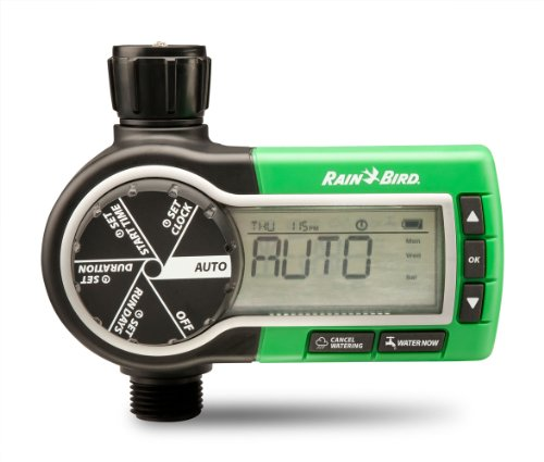 Rain Bird 1ZEHTMR Professional Grade Electronic Digital Hose End Timer/Controller, One Zone/Station,...