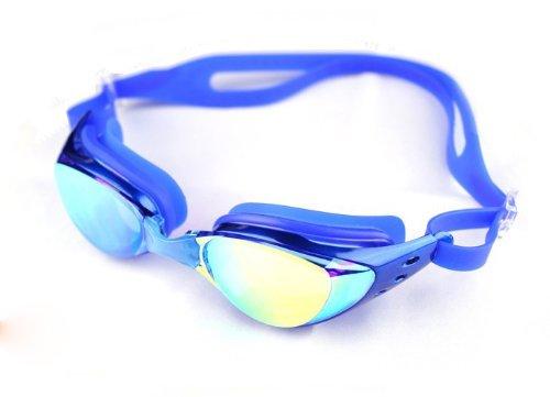 Ispeed Mirror Pro Swim Goggle (Blue)