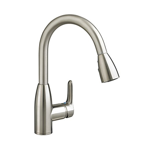 American Standard 4175300.075 Colony Soft 1 Handle High Arc Pull Down Kitchen Faucet, 1.5 GPM,...