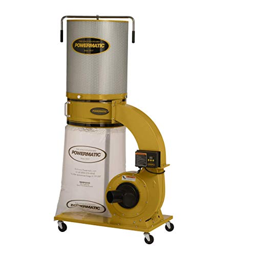 Powermatic PM1300TX-CK Dust Collector, 1.75 HP, 1PH 115/230V, 2-Micron Canister Kit (1791079K)