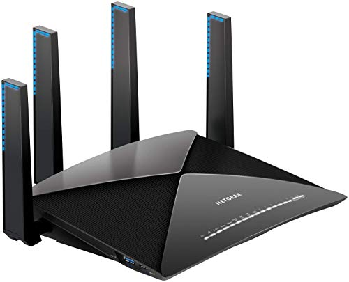 NETGEAR Nighthawk X10 AD7200 802.11ac/ad Quad-Stream WiFi Router, 1.7GHz Quad-core Processor, Plex...