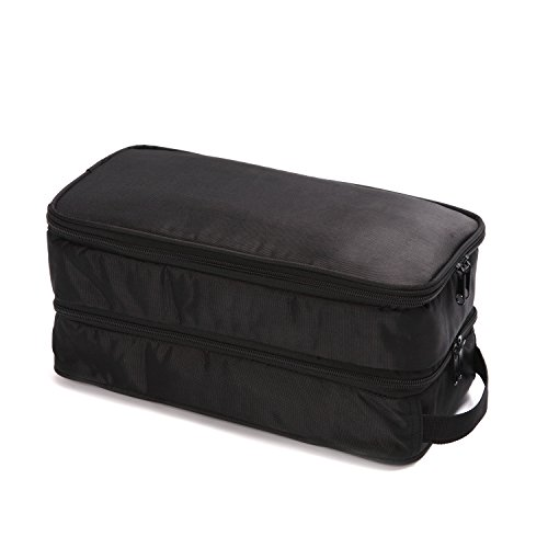 Large Travel Toiletry Bag For Man And Women - Versatile Hanging Toiletry And Cosmetic Organizer With...
