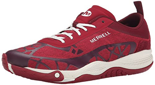 Merrell Women's All Out Soar Walking Shoe, Scooter Red, 7 M US