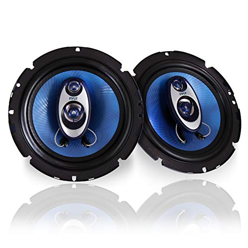 6.5' Three-Way Sound Speaker System - 180 W RMS/360W Power Handling w/ 4 Ohm Impedance and 3/4''...