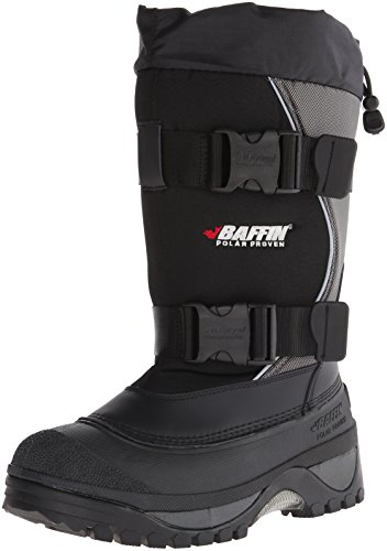 Baffin Men's Wolf Snow Boot,Black/Pewter,13 M US