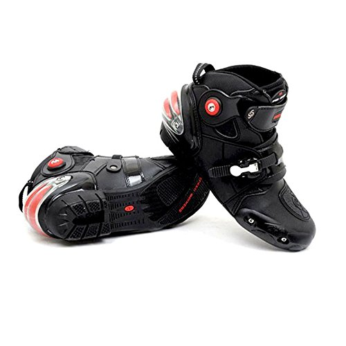 NEW Men's Motorcycle Racing Boots Black US 11 EU 45 UK 10