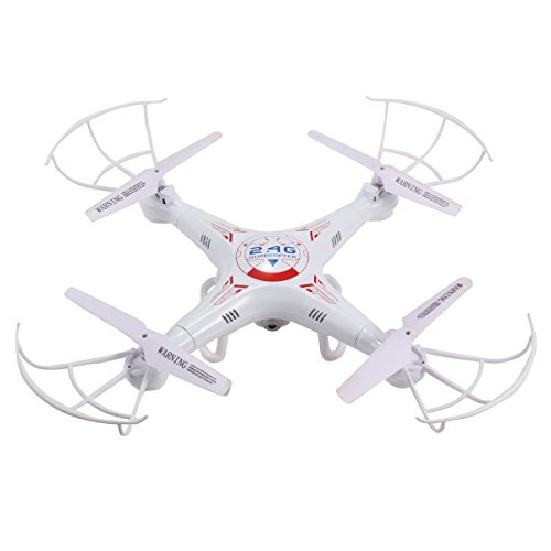 Ohuhu Quadcopter with Camera RC Mini Drone Quad Copters 2.4GHz 6-Gyro Headless Mode with 2 Batteries...