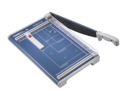 Dahle 533 Professional Guillotine Trimmer, 13-3/8' Cut Length, 15 Sheet Capacity, Self-Sharpening,...