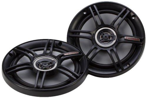 Crunch CS65CXS Full Range 3-Way Shallow Mount Car Speaker, 6.5'