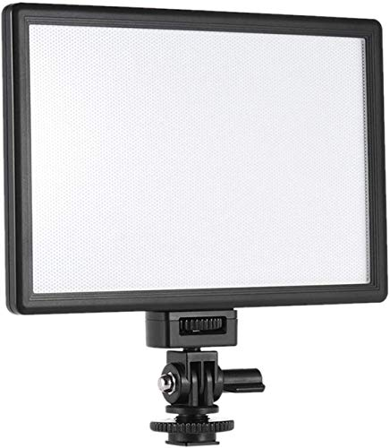 VILTROX L116T CRI95+ Super Slim Dimmable LED Light Panel,Bi-Color 3300K-5600K LED Video Light with...