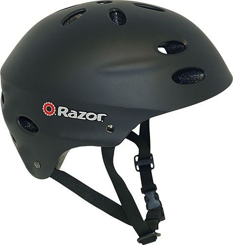 Razor V-17 Adult Multi-Sport Helmet Protection Safety Matte Black
