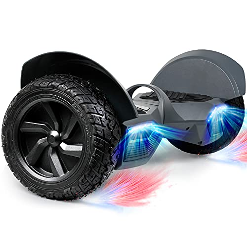SISIGAD 8.5' Solid Tires Off Road Hoverboard, All Terrain Self Balancing Scooter with 700W Motor,...