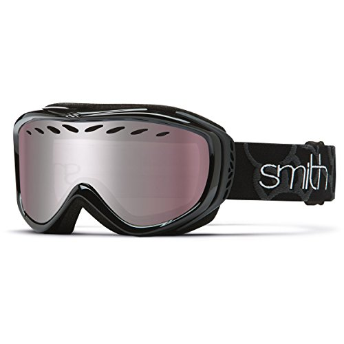 Smith Optics Transit Women's Airflow Series Snow Snowmobile Goggles Eyewear - Black/Ignitor...