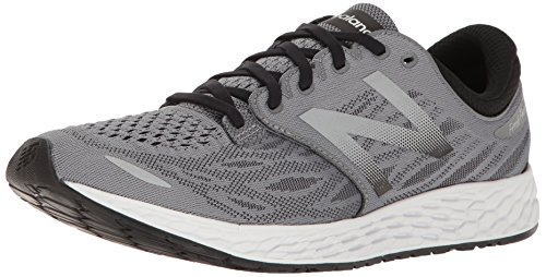New Balance Men's Fresh Foam Zante V3 Running Shoe, White/Black, 9 D US
