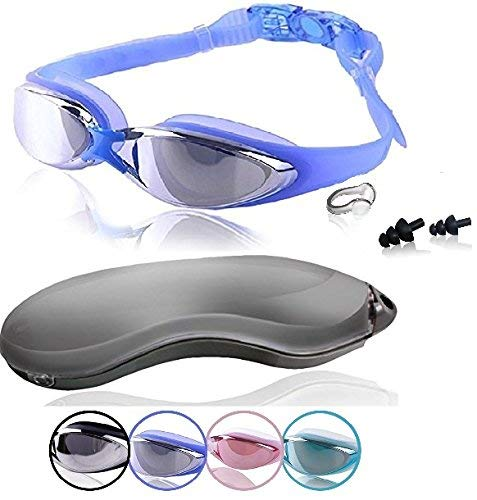 Swim Goggles | Swimming Goggles For Men Women Adults - Best Non Leaking Anti-Fog UV Protection Clear...