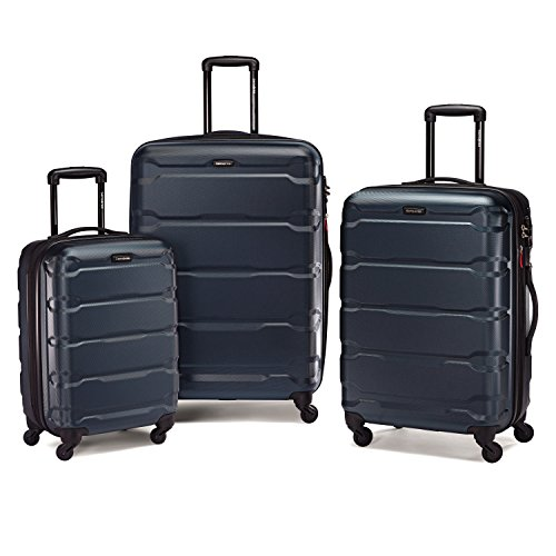 Samsonite Omni PC Hardside Luggage, Teal, 3-Piece Set