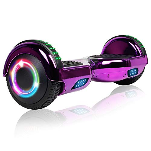 jolege Hoverboard 6.5' Self Balancing Hoverboards for Kids with LED Light - Ul2272 Certified