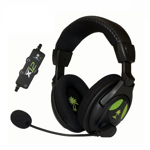 Turtle Beach - Ear Force X12 Amplified Stereo Gaming Headset - Xbox 360 (Discontinued by...