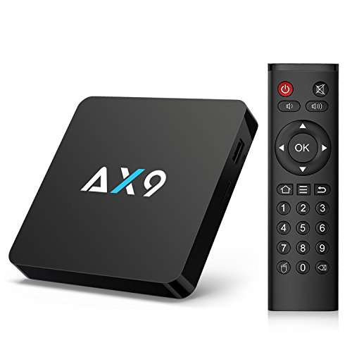 TICTID [1G DDR3/8G EMMC] AX9 Android 7.1 TV Box Amlogic Quad Core A53 Processor 64 Bits Smart TV Box...