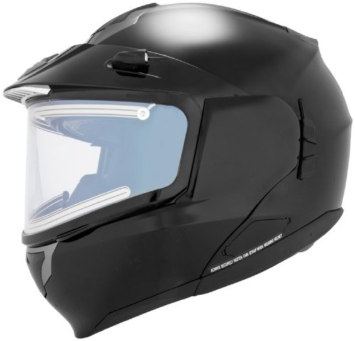 Scorpion Snow Ready EXO-900 Snow Racing Snowmobile Helmet - Matte Black / Small