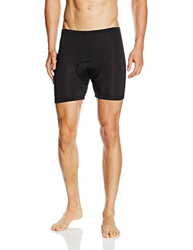 BALEAF Men's 3D Padded Bicycle Cycling Underwear Shorts Size XXXL,Black