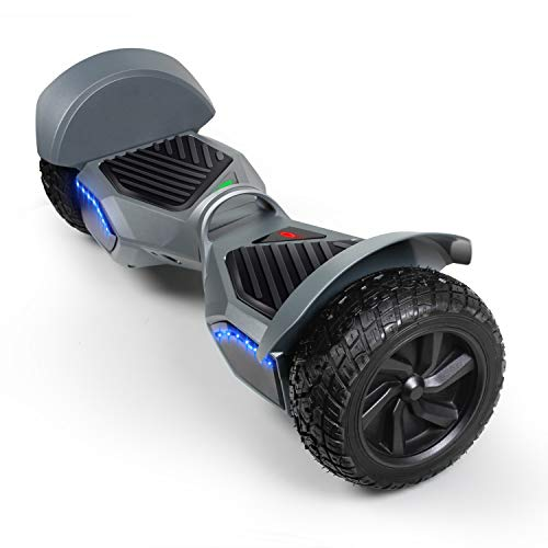 SISIGAD Off Road Hover Board, 8.5 Inch Hoverboard, Two-Wheel Self Balancing Hoverboard Electric...
