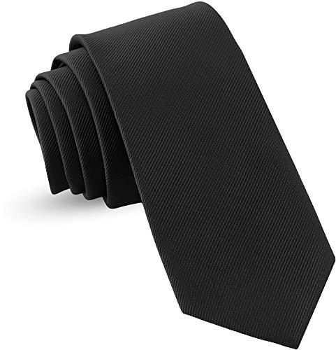 Luther Pike Seattle Handmade Ties For Men: Woven Tie Mens Ties: Standard & Thin Mens ties, Solid...