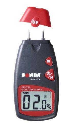 Sonin 50270 Digital Moisture Test Meter 270 for Wood